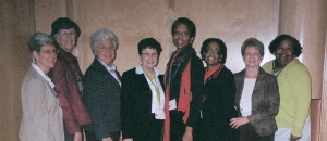 Branch members at the 2009 AAUW NC convention