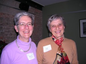 L-R: Nancy Shoemaker, June Kimmel