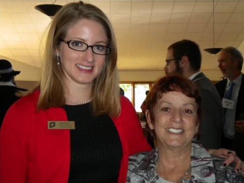 Kiser and Mock at PPCNC Champions of Choice Breakfast, 2012