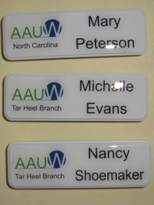 Sample name tags